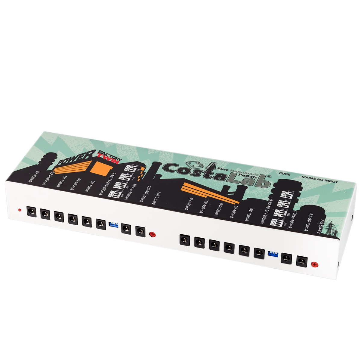 Power Factory Twin Costalab Fuse Box Video Tube